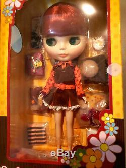 12 redhead Neo Blythe Mod Molly doll Takara Tomy NIB US seller