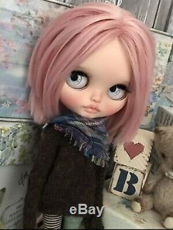 Blythe Custom By Cvetlankadoll 2018 Pink Beauty Bunny OOAK Neo