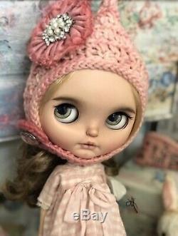 Blythe Custom By Jodie Dolls Stenn EBL Neo OOAK Custom Puppelina Eyes Takara