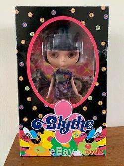 Blythe Doll Asian Butterfly EBL-3 Takara Tomy Neo Blythe 2002