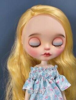 Blythe Neo Blythe Fani Flamingo Custom doll