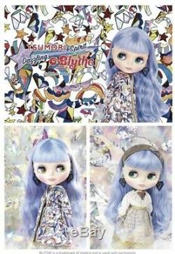 CWC Exclusive Neo Blythe Doll Tsumori Spirit Dazzling Blythe f/s japan blue hear