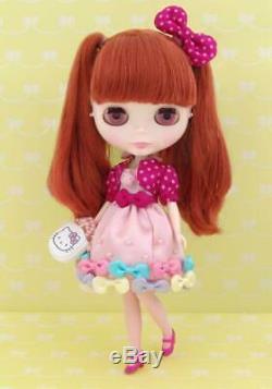CWC Limited Neo Blythe Ribbonetta Wish x Hello Kitty RARE Takara Tomy Doll cute