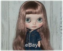 Custom Blythe doll. OOAK art Blythe. Gerda Eternity Neo Blythe