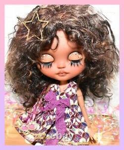 Custom Neo Blythe Doll MARYWIND Mohair Pineapple Princess OOAK Takara Tomy