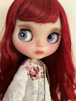 Custom Neo Blythe Doll by Gbaby, Sangria