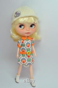 Custom Ooak Neo Blythe Doll Lily