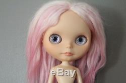 Custom SpiltAlmondMilk EBL Alpaca Reroot OOAK Takara Neo Blythe Doll