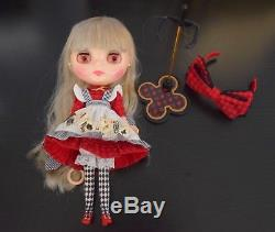 FAST SALE! 2 Neo Blythe Takara Tomy lot, Dark Rabbit and Cotton Candy Mandy