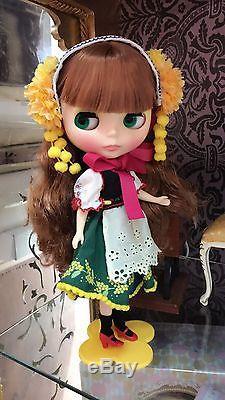 Free Shipping Joana Gentiana Neo Blythe doll 12'' Joanna Gentiana