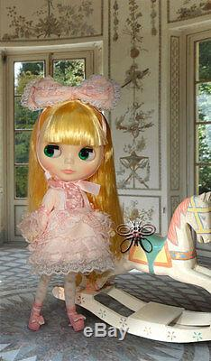Free Shipping Neo Blythe Gracey Chantilly doll 12'' Takara Hasbro