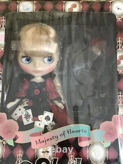 Free Shipping Neo Blythe Majesty of Hearts Blythe doll 12'' Alice In Wonderland