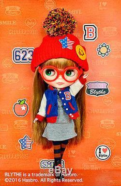 Free Shipping Varsity Dean Neo Blythe doll 12'' Takara Hasbro CWC Shop Limited