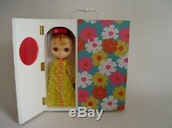 Handmade Blythe doll wooden wardrobe carrier case for Kenner + Neo by Theodoll