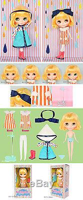 Hasbro Takara CWC Neo Blythe doll Playful Raindrops