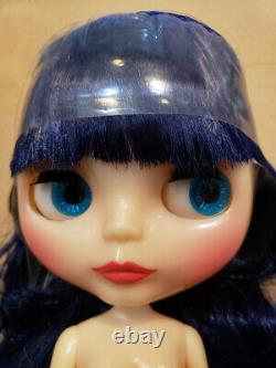 Hasbro Takara Hasbro CWC Neo Blythe doll Curly blue babe NUDE DOLL ONLY