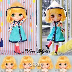 Hasbro Takara Neo Blythe doll Playful Raindrops
