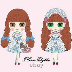 Hasbro Takara The Wizard of Oz inspired look Neo Blythe Didee Eureka