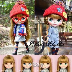 Hasbro Takara cwc Neo Blythe doll Varsity Dean