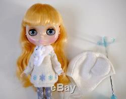 ICE RUNE Hasbro Neo Blythe Doll Takara Tomy Japan Snow Winter Complete