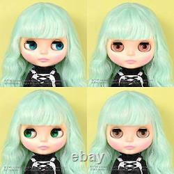 In Stock Now! Neo Blythe Doll Cream Cheese and Jam Mint Green Hair