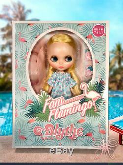 In Stock Now! Neo Blythe Doll Fani Flamingo Takara Tomy Limited doll