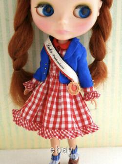 LaLa Puppenhaus Dolly Girls Manifesto Outfit Dress Set Neo Blythe Doll Japan