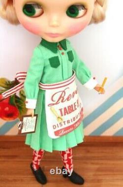 LaLa Puppenhaus Lalas Diner Outfit Dress Set Neo Blythe Doll Japanese Kawaii