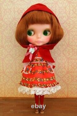 LaLa Puppenhaus Rotkappchen Outfit Dress Set Neo Blythe Doll Japanese Kawaii