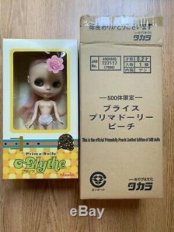 NEO Blythe Prima Dolly CWC LIMITED PEACH Takara