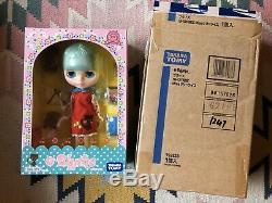 NRFB Miss Sally Rice Neo Blythe Doll Translucent Retro Rare Takara U. S. Seller