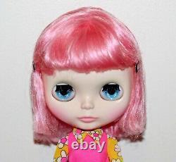 Neo BLYTHE Charlotte de Fleur 2014 Takara OOAK Mod Pink US Seller