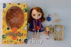 Neo Blythe Doll BL-5 Kozy Kape Inspired Free Petite Blythe Mondrian
