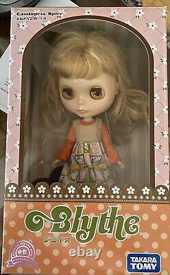 Neo Blythe Doll Cassiopeia Spice Takara Tomy Hasbro Retired Excellent Condition