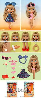 Neo Blythe Doll Cherry Beach Sunset Takara Retro Complete in Box US