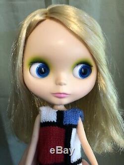 Neo Blythe Doll Mondrian, Matte Face, BL US Seller