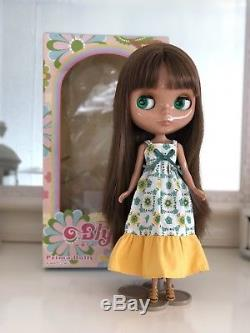 Neo Blythe Doll Prima Dolly Heather Sky Takara Brown Skin Girl