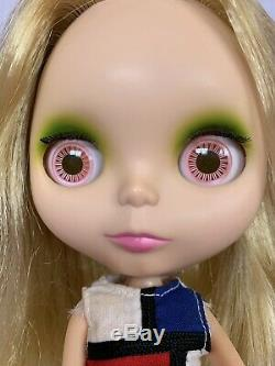 Neo Blythe Mondrian Matte Face Doll Takara Used