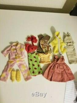 Neo Blythe Simply Mango, Great Condition, Custom Clothing + Extra, Dog Included