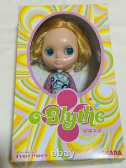Neo Blythe Takara Fruit Punch Takaradoll Hasbro Blonde Short 2003 Neo Used