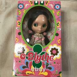 Neo Blythe doll Berry cherry berry Character Goods Black hair pigtails Mint