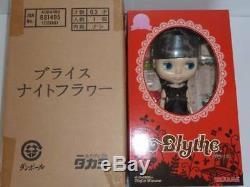 Neo Blythe doll Night Flower Blythe Shop Exclusive