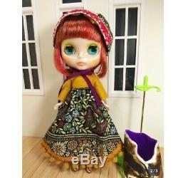 Neo Blythe x Ahcahcum Collaboration Doll Ahcahcum zukin Takara Tomy used