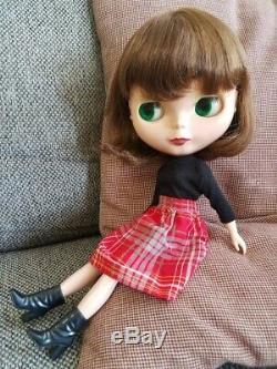 Neo Takara Blythe Doll White Magic Night Light Custom + shoes, clothes, box