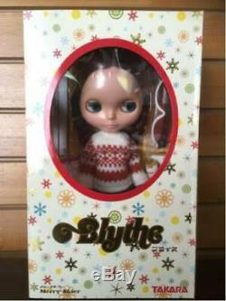 Neo blythe doll merry skier F/S cute Takara Japan New