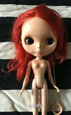 Neo blythe rouge noir EBL nude doll only