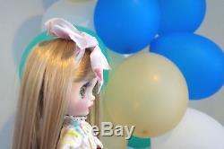 New Handmade Blythe Doll 12 Blonde Doll movable hand Takara Neo Barbie design