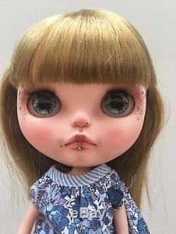 OOAK Custom Authentic Tomy Takara Neo Blythe Doll Fia by Blythe Utopia