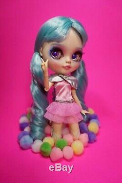 OOAK custom Neo Blythe doll Swarovski Crystal Goddess repaint bjd Pullip Jem