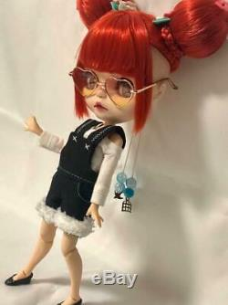 Ooak custom blythe doll 1/6 Doll Body Neo Blythe Icy Doll